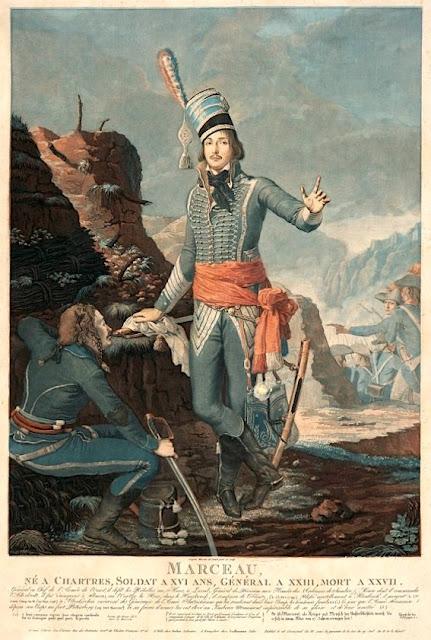 Antoine Sergent (1751-1847), Portrait du Général Marceau, Archives départementales d'Eure-et-Loir