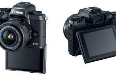 Canon EOS M5 DSLR Firmware最新ドライバーをダウンロードします