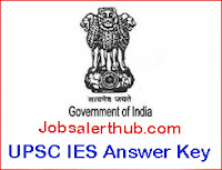 UPSC IES Answer Key