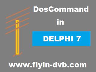 Cara Instal Komponen DosCommand Di Delphi 7