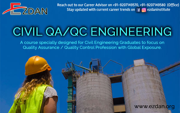 Civil QA/QC Engineering Course for B.Tech / Diploma Engineering Students : Kollam, Kerala
