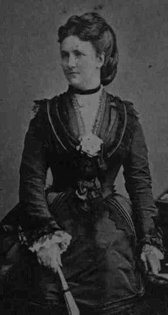 Carola (Caroline Friederike Franziska Stephanie Amelie Cäcilie) Königin von Sachsen.