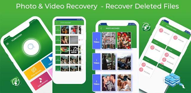 قم بتنزيل Photo & Video & Audio Recovery Deleted  - تطبيق استرداد الملفات لنظام الاندرويد