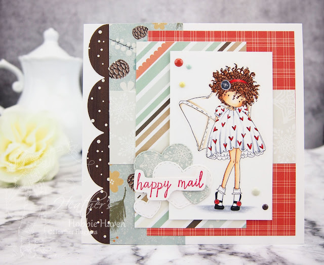 Heather's Hobbie Haven - Lacey has a Letter Card Kit