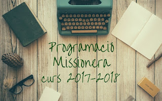 Programación curso misionero 2017/2018 Tarragona