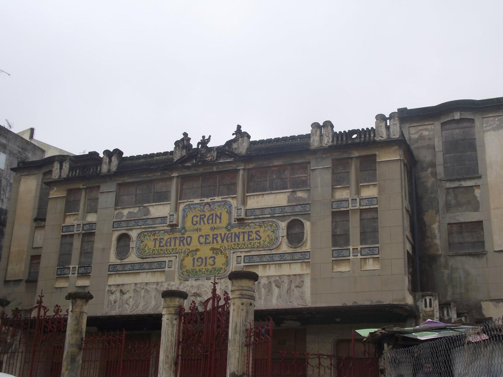 Gran teatro cervantes , Tanger , España