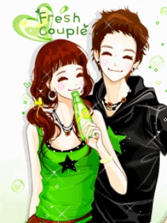 Fresh Love Couple Mobile Wallpaper