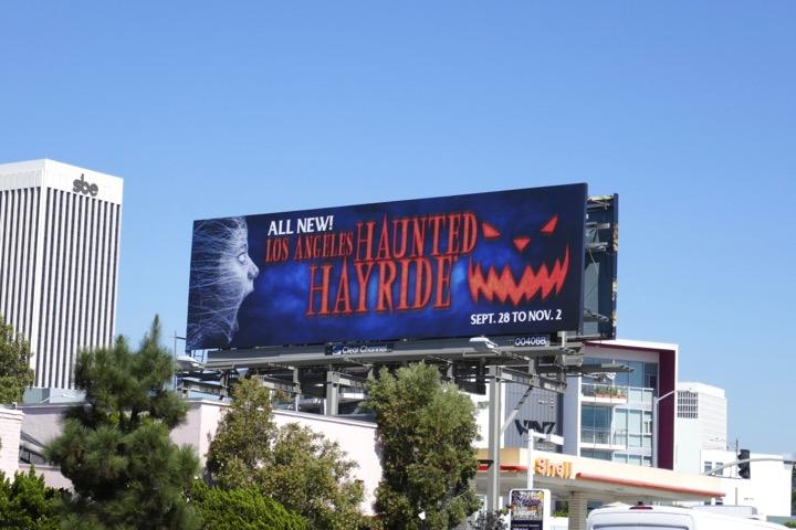LA Haunted Hayride 2019 billboard