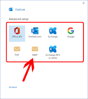 Menambahkan Akun Email di Office Outlook Hosting Cpanel Server