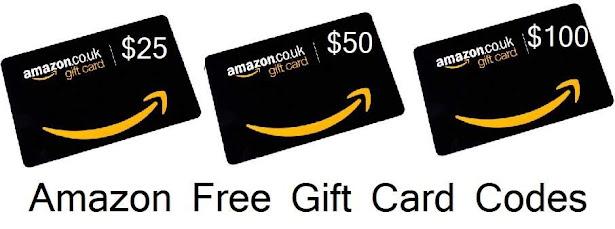 Amazon Free Gift Card Codes Generator