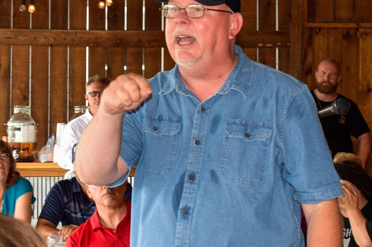 Donald Rainwater Hosts A Rally In Whitestown