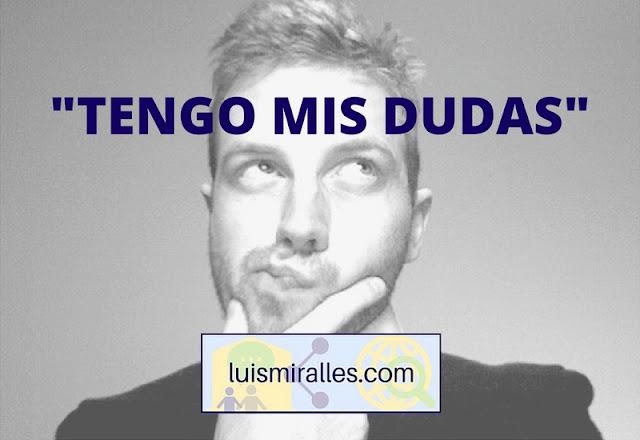 EL MAESTRO Y SUS DUDAS
