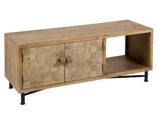 Mueble para la television estilo industrial