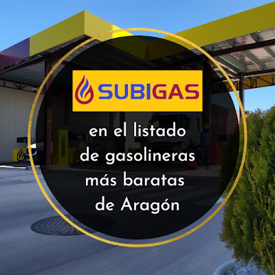 Subigas entre las gasolineras más baratas de Aragón