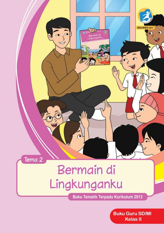 Buku Guru Tematik SD Kelas II Tema 2 Bermain di Lingkunganku