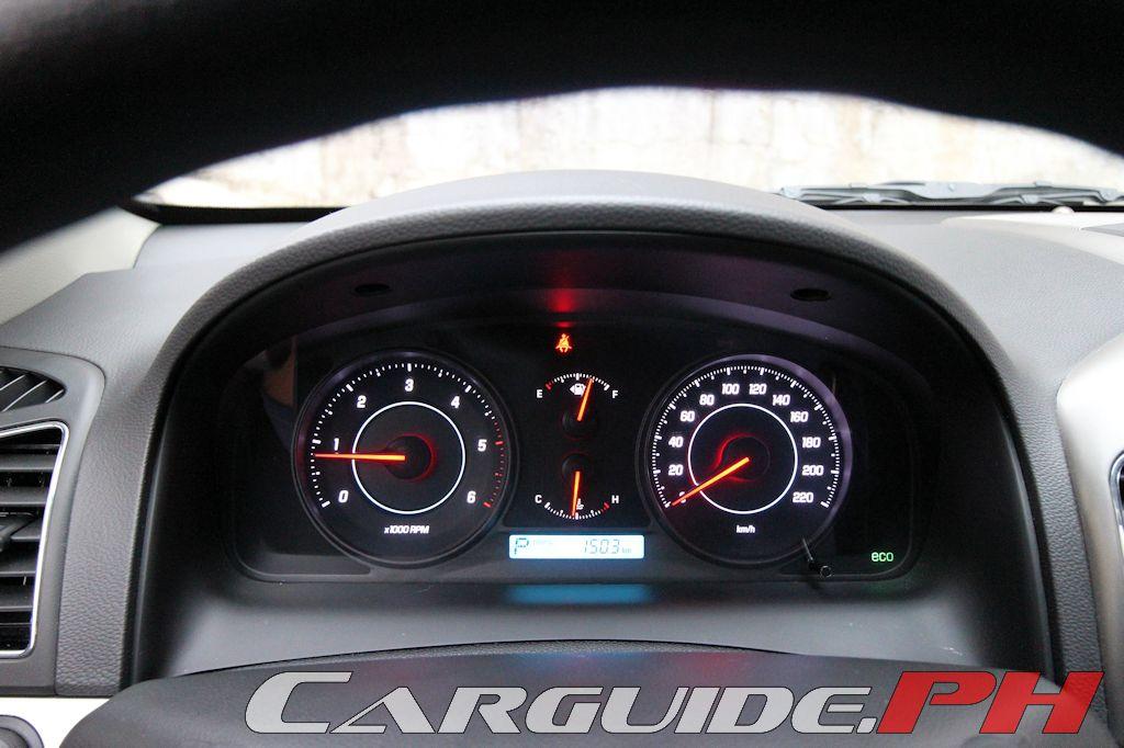 Chevrolet Captiva Warning Lights