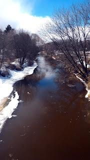 Neebing River Thunder Bay