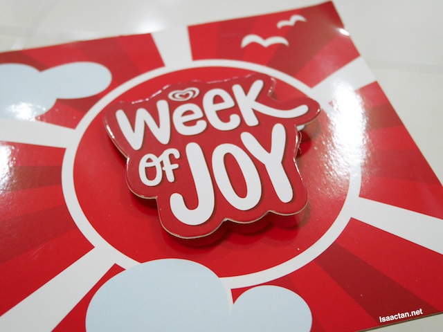 Wall's Week Of JOY