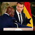 Ghanaian President embarrass French President Macron with shocking speech (video)
