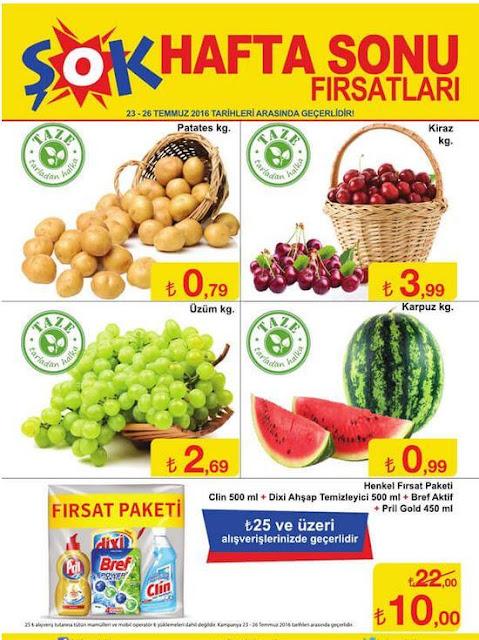Şok Market 20-26 Temmuz 2016 İndirimli Ürünler Kataloğu - 4
