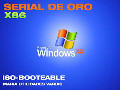 Windows xp - x86 (32 bits) con serial de oro descargar 2016