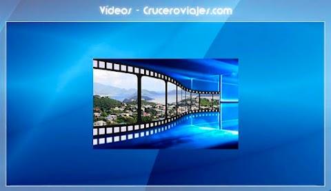 Bienvenidos al nuevo blog de vídeos de Cruceroviajes