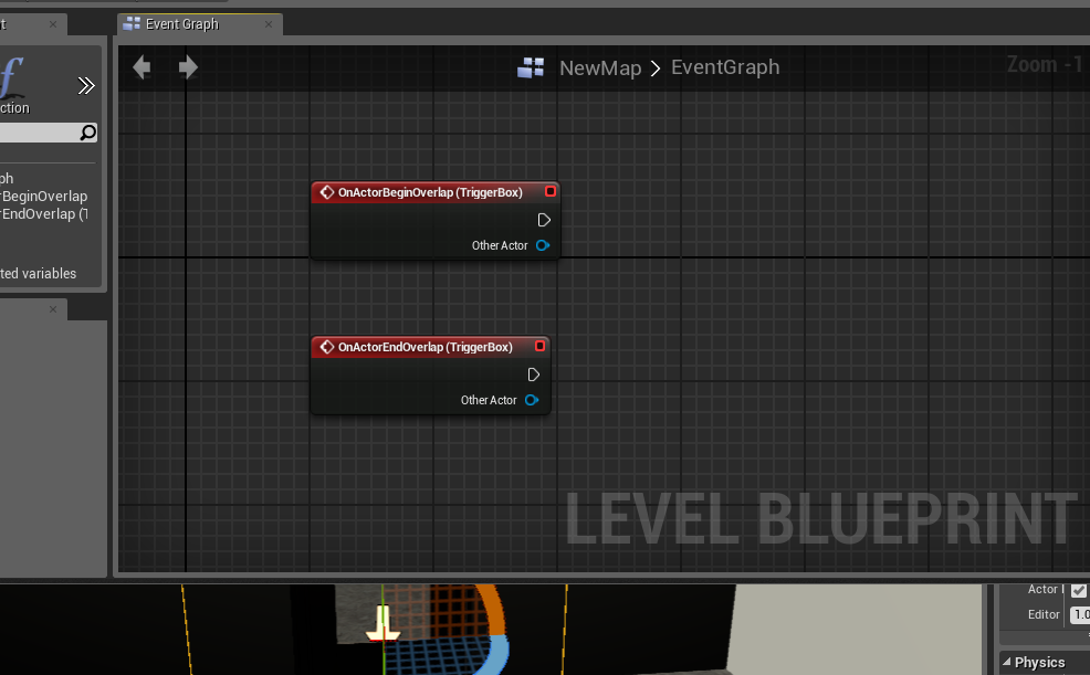 Create an automatic door in ue4 onlinedesignteacher these pieces of coding will be the beginnings of our doors action malvernweather Choice Image