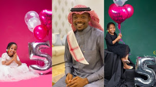 Ahmed Musa Celebrates His 2nd Chid, Halima On Her 5th Birthday
