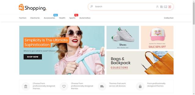 Download Template Toko Online Blogger Terbaik, Cara membuat Toko Online Gratis