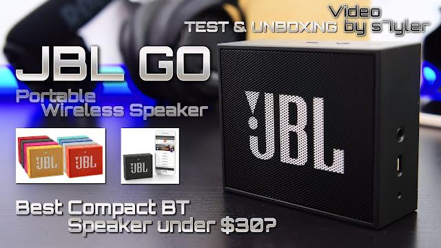 JBL Go Portable Wireless Bluetooth Speakers