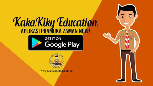 Download Aplikasi Pramuka Zaman Now!