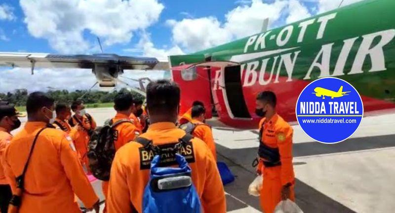 jatuh di lokasi KKB 3 kru pesawat rimbun air ditemukan meninggal dunia