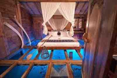 Glass Floor, Udang House, Bali, Indonesia