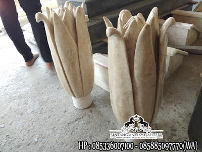 Batu Nisan Model Tulip |  Batu Nisan Marmer Tulungagung