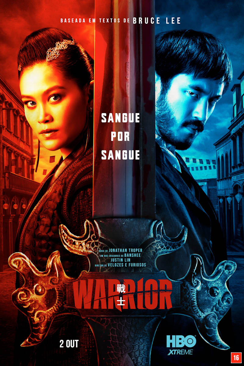 HBO divulga pôster oficial da 2ª temporada de Warrior
