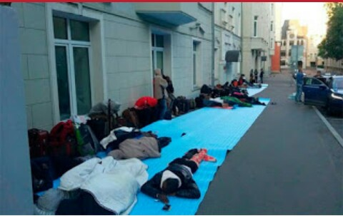 Stranded Nigerians in Russia