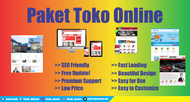Paket Toko Online Harga Termurah Free Domain