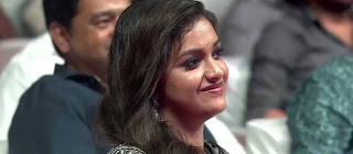 Keerthy Suresh with Cute Smile at Sarkar Audio Launch