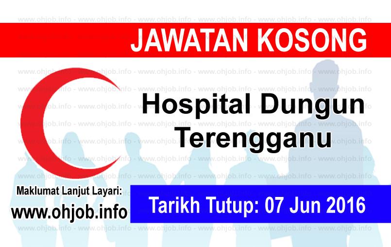 Jawatan Kerja Kosong Hospital Dungun Terengganu logo www.ohjob.info jun 2016