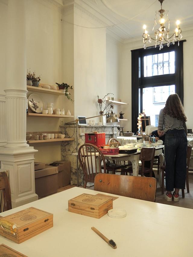 Lier: Atelier Steengoed:  mijn zelfgemaakte zilverkleiring