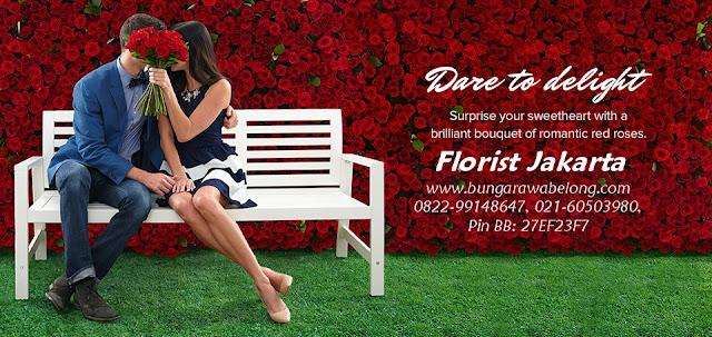 toko bunga mawar jakarta