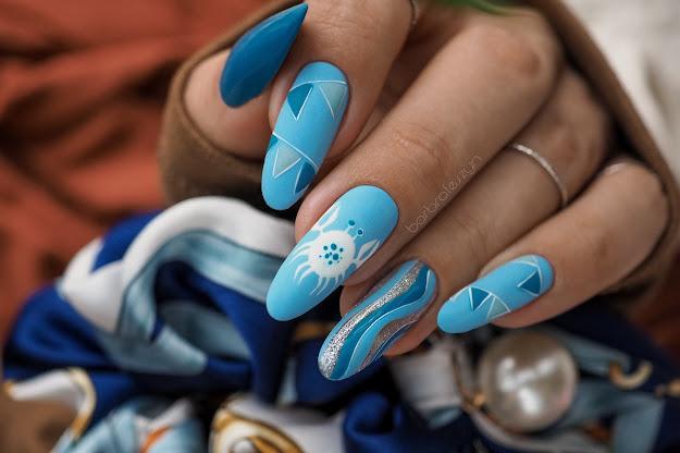 krabowe paznokcie