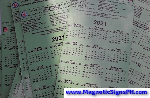 Promotional Calendar Magnets Philippines