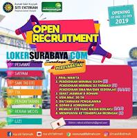 Open Recruitment at Rumah Sakit Aisyah Siti Fatimah Surabaya Desember 2019