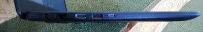 Sisi kiri ASUS VivoBook X505Z