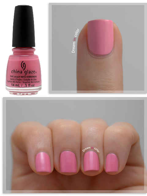 China Glaze Pink or swin