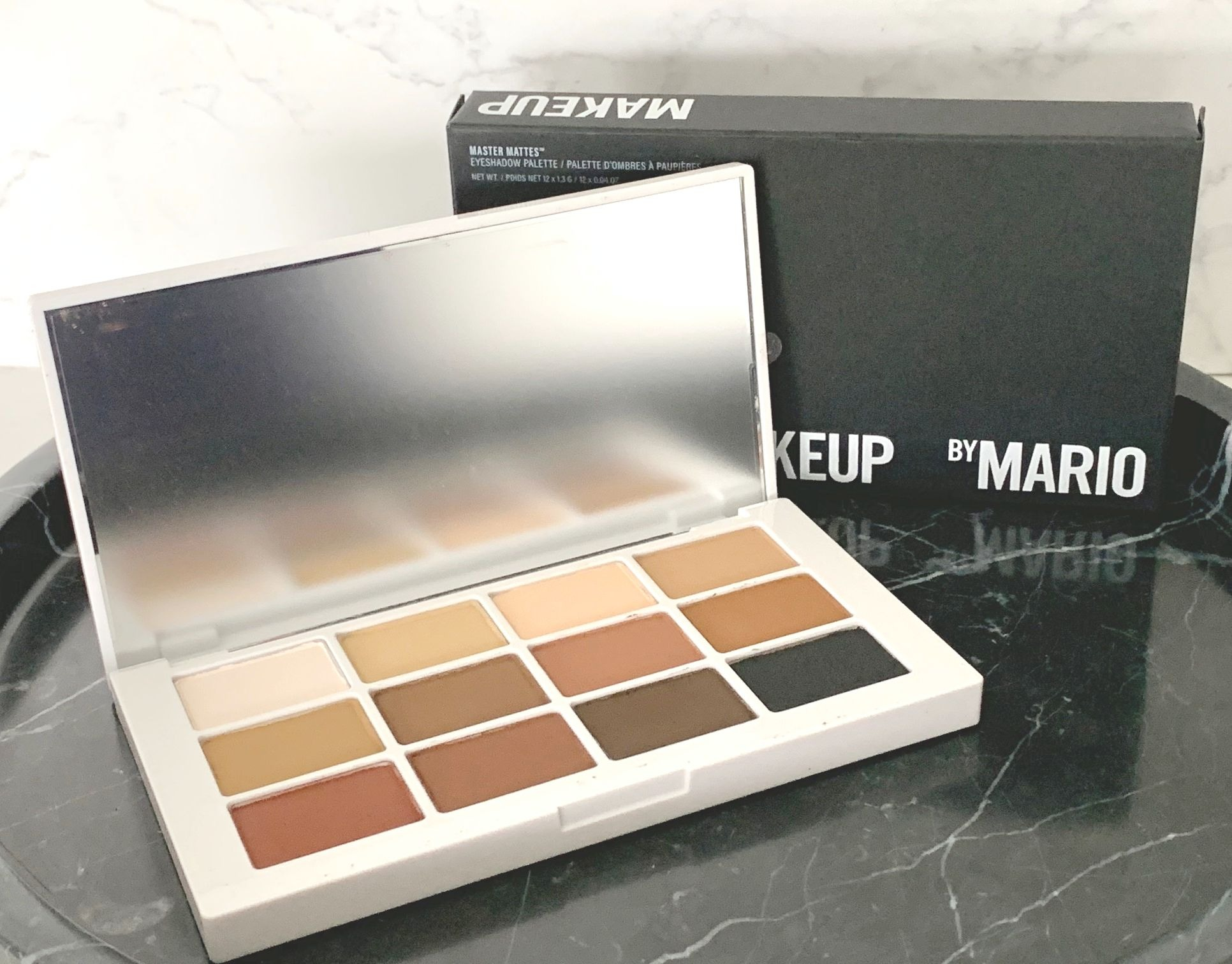 Makeup By Mario Master Mattes™ Eyeshadow Review & Swatches