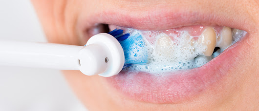 How to Brush with an Electric Toothbrush - Dental Care
