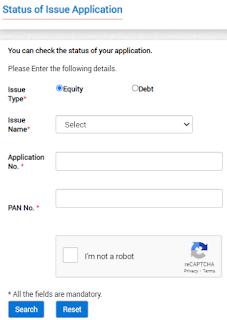 IPO Allotment Status Websites