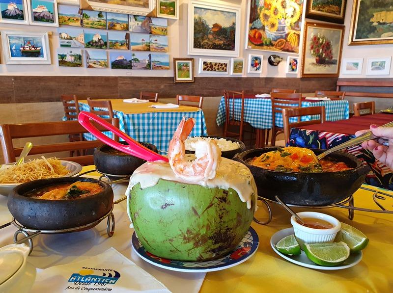 Restaurante Atlântica Praia da Costa e Praia de Itaparica